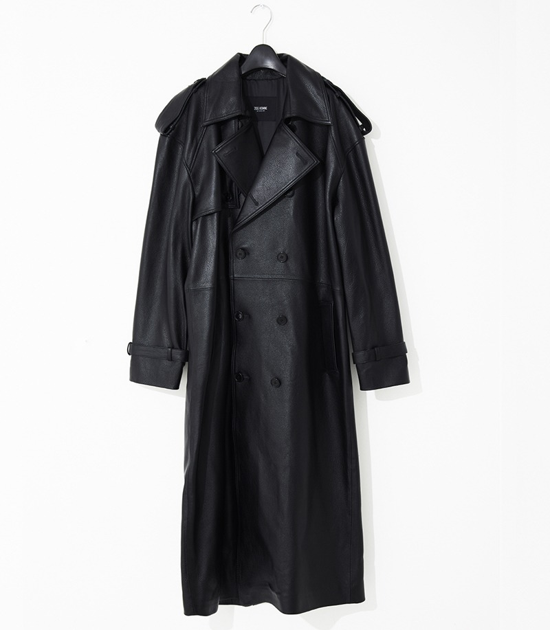 2020-21 F/W NEW COLLECTIONOVERSIZE CONTEMPORARY LEATHER LONG COAT(오버핏 & 기본핏 - 소가죽 & 양가죽 & 고트가죽)(LT-253)(남성용 + 여성용)