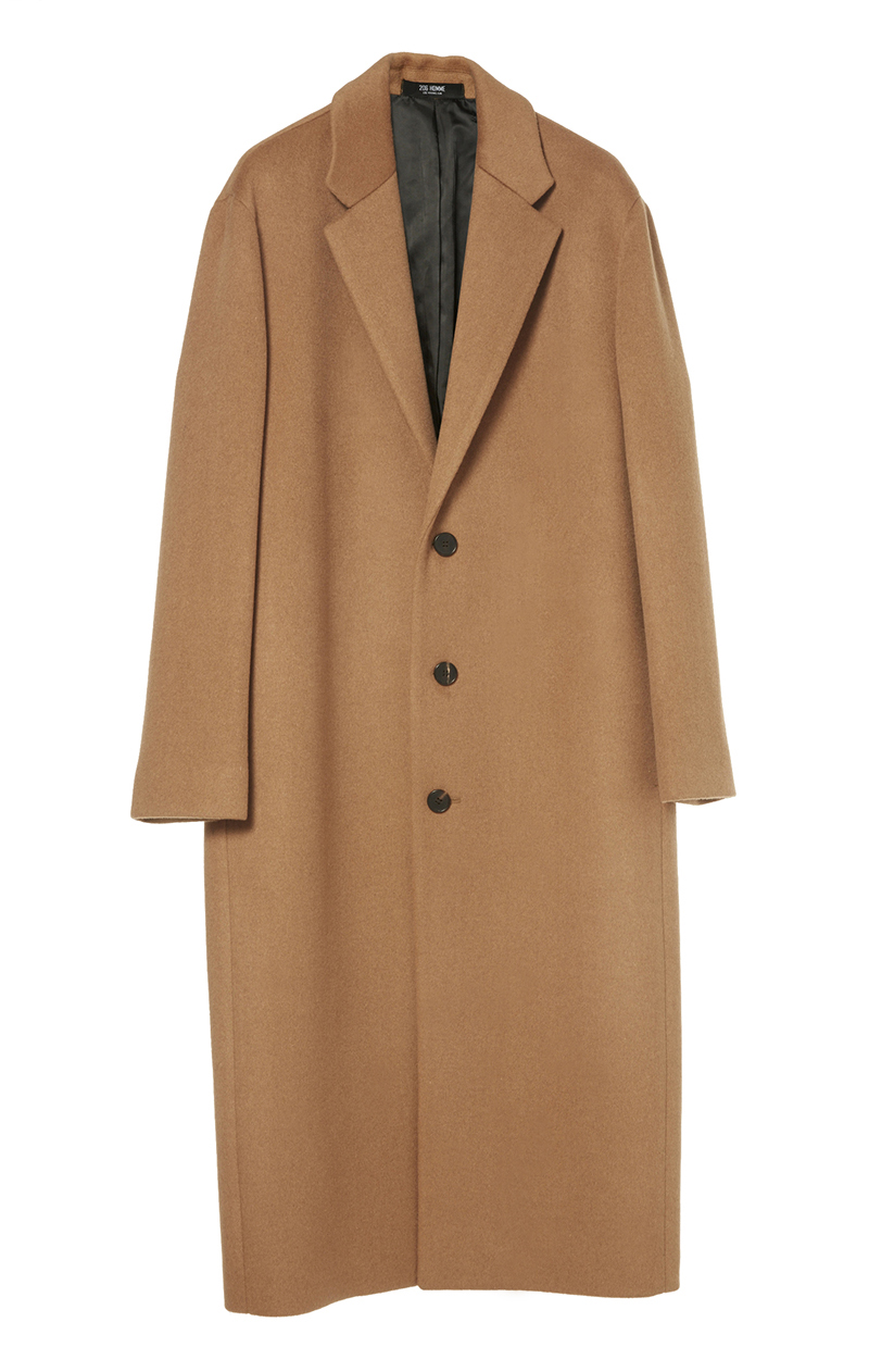 HIGH-END™ OVERSIZE CAMEL LONG COAT(최고급 터치감 캐시미어20% + 울80% 원단)(CASHMERE 20% + WOOL 80%)(남여공용)(CT-193)