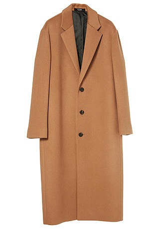 HIGH-END™ OVERSIZE CAMEL LONG COAT(최고급 터치감 울100% 원단)(WOOL 100%)(남여공용)(CT-193)
