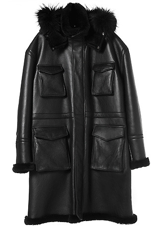 OVERSIZE RACCON HOOD LONG MUSTANG COAT(ITALY MUSTANG-100%)(남성용 + 여성용)(MS-053)